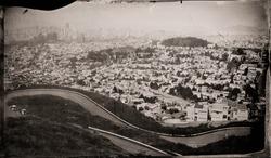 San Francisco from Twin Peaks Tintype 2012