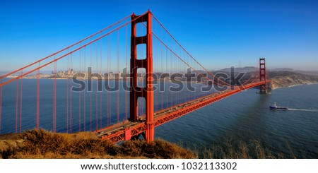 San Francisco Golden Gate Bridge   #1032113302