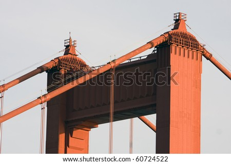 golden gate bridge sunset. Golden Gate Bridge at