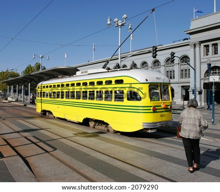San Francisco historic StreetCar