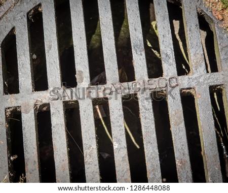 San Francisco Manhole Cover #1286448088