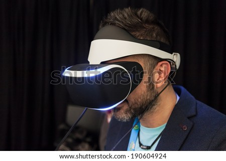 SAN FRANCISCO - MARCH 20: Sony unveiling Morpheus, its Virtual Reality headset for PlayStation 4 for the first time at GDC 2014 on March 20, 2014 in San Francisco, CA