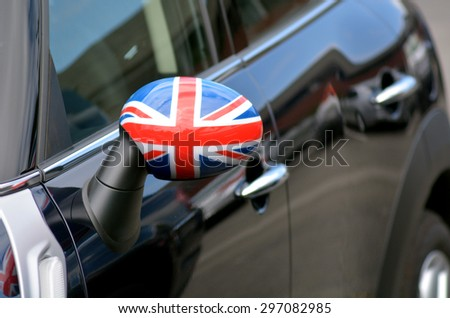 San francisco may 15 2015 british flag on mini it 39 s a for British motor cars san francisco