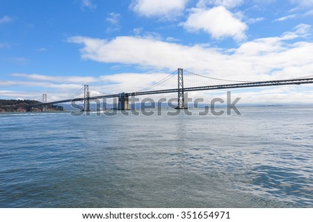 San Francisco Oakland Bay Bridge, California, USA. #351654971