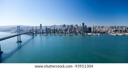 San Francisco Panorama with Bay bridge