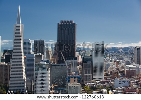 San Francisco, Skyline, Financial District