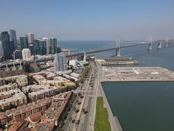 San Francisco SOMA Neighborhood by Drone