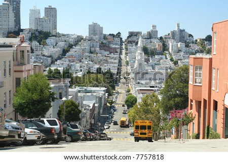 San Francisco Street Level Perspective