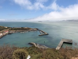 San Francisco View from the other side of Goldengate Bridge.