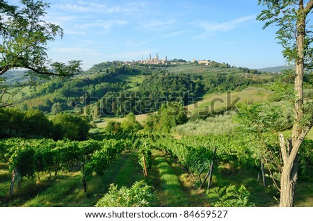 San Gimignano is known as the city of the Beautiful Towers rich in History Art and Culture surrounded by the splendid Tuscan country,