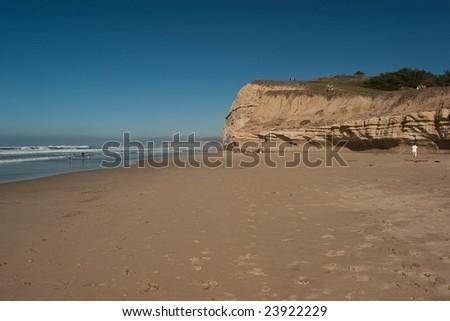 San Gregorio State Beach is a beach near San Gregorio, California, USA, south of Half Moon Bay.