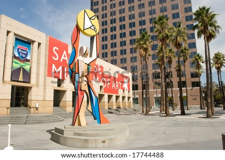 San Jose Museum of Art is an art museum in Downtown San Jose, California, USA. Founded in 1969, the museum hosts a large permanent collection emphasizing West Coast artists.