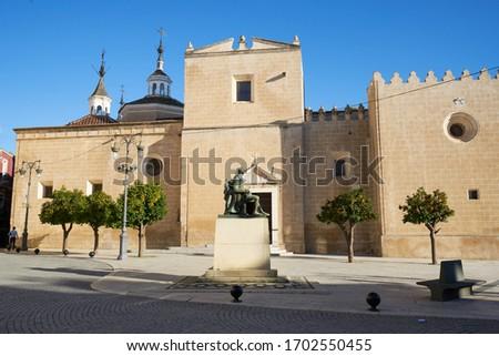 San Juan Batista church cathedral in Badajoz, Spain
