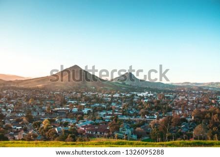San Luis Obispo Sunset Foto stock ©