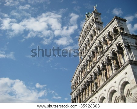 San Martino Cathedral, Lucca, Italy
