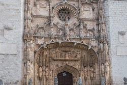 San Pablo Church in Valladolid, Spain