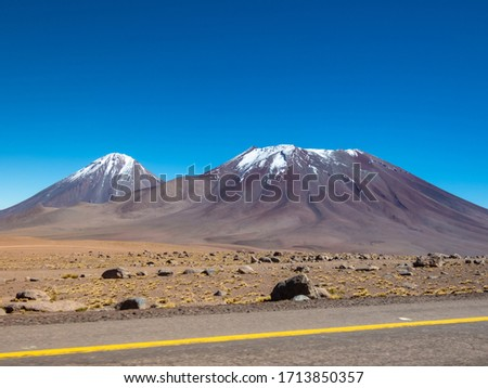 Photo of  San Pedro de Atacama, Chile; landscape on the outskirts of town