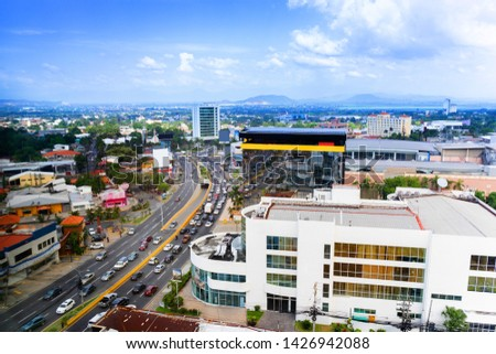 Photo of  San Pedro Sula City in Honduras