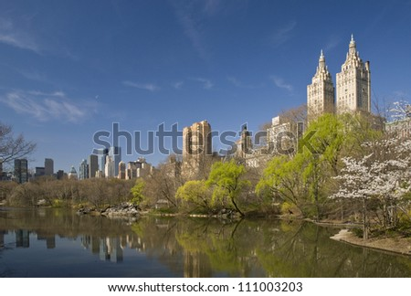 San Remo Building Overlooking Central Park