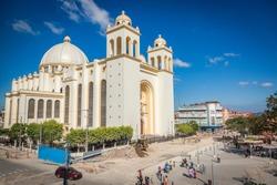 San Salvador Cathedral. San Salvador, El Salvador.