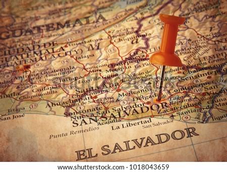 san salvador detination in the...