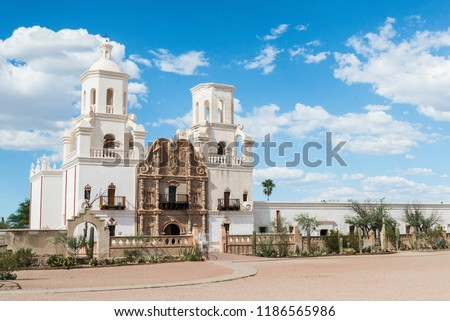 San Xavier del Bac mission, Tucson Arizona