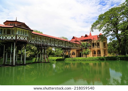 Sanam Chandra Palace is a tiny castle-like structure built in a combination of French and English styles.