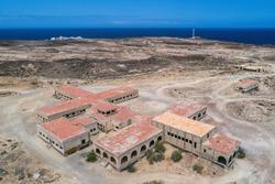Sanatorio de Abona Abades Tenerife Aerial Drone View