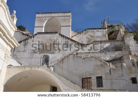 Sanctuary in Apulia (Madonna della Scala)