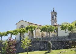 Sanctuary of Altino - Albino city - Bergamo area - Italy