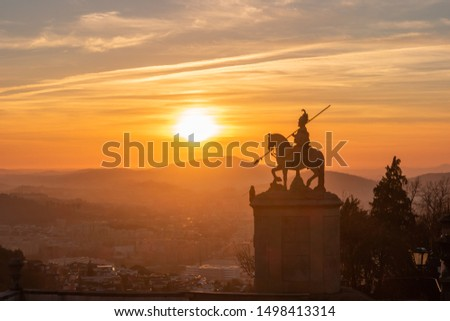 Sanctuary of Bom Jesus do Monte (also known as Sanctuary of Bom Jesus de Braga) is located in Tenoes parish, in the city, county and district of Braga, Portugal.