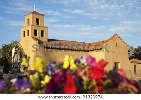 Sanctuary Of Guadalupe, Santa Fe, New Mexico