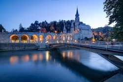 Sanctuary of Our Lady of Lourdes in France
