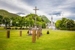 Sanctuary Of Our Lady Of Lourdes - Lourdes, Hautes-Pyrenees, Occitanie, France, Europe