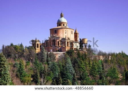 Sanctuary of the Madonna di San Luca, Bologna, Italy