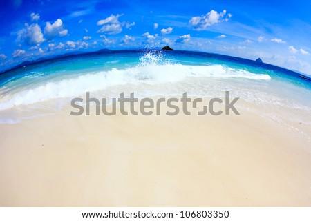 sand and andaman sea