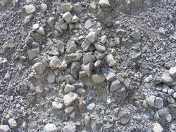 Sand and gravel texture for construction.