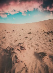 sand and rocks Arabian man sky clouds    Saudiarabia sunset arab desert Yemen Arizona Morocco Dubai MiddleEast KSA