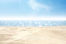 sand and sea and sky