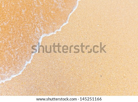 sand and wave #145251166
