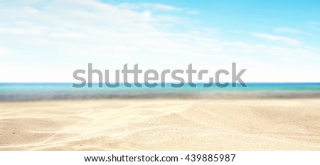 sand background for your decoration and travel time  - Shutterstock ID 439885987