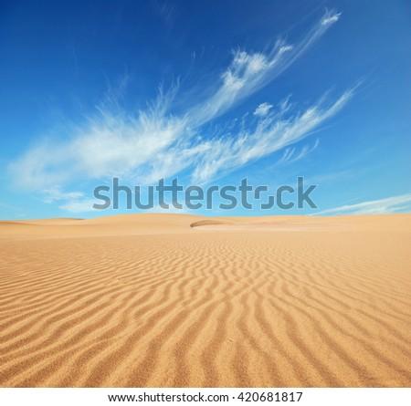 sand desert #420681817