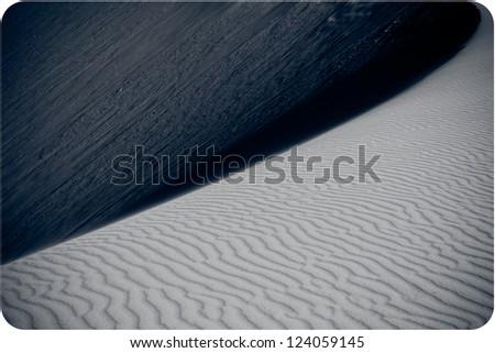 Sand desert dunes