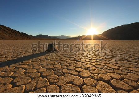 Sand Dune Formations in Death Valley National Park, California