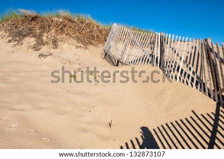 Sand dunes at Race Point Beach, Cape Cod, MA