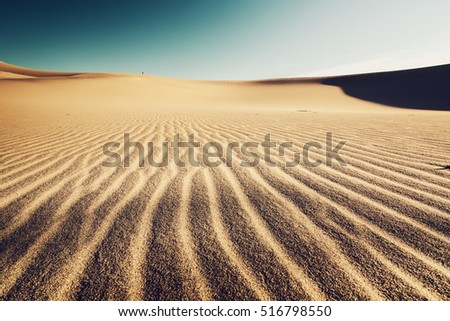 sand dunes background and...