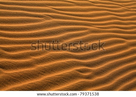 Sand Dunes, Death Valley National Park - California, United States