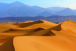 Sand dunes in Death Valley, California, USA