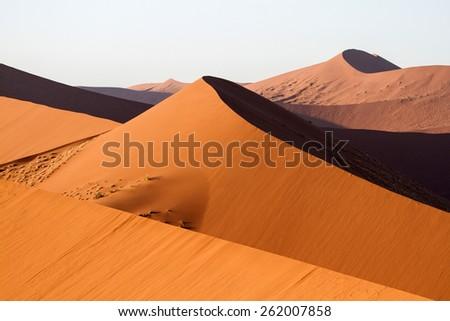 Sand dunes in Namibia, The Namib Desert