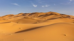 Sand dunes of Erg Chebby, Merzouga, Morocco